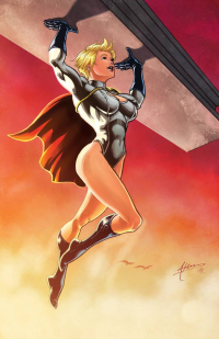 Power Girl from Brian Atkins