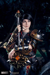 Shappi as Bellona