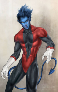 Nightcrawler from Anne Cain