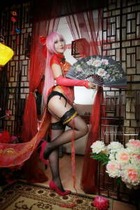 Jessica Cosplay as Luka Megurine
