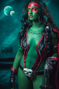 Leah Burroughs as Gamora
