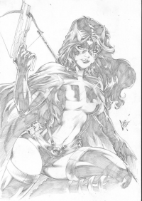 Huntress from Caio Marcus