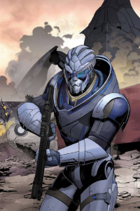 Garrus Vakarian from Mike Hawthorne