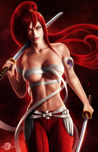 Erza Scarlet from martaino