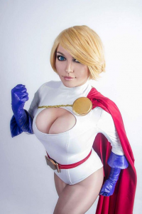 Milena Hime as Power Girl