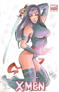 Psylocke from Elias Chatzoudis