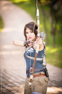 Camialoy Cosplay as Lara Croft