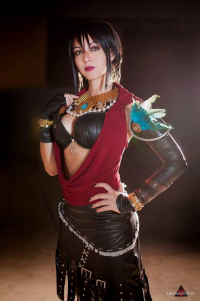 Angyru as Morrigan