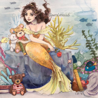 Belle/Mermaid from Pastel-le
