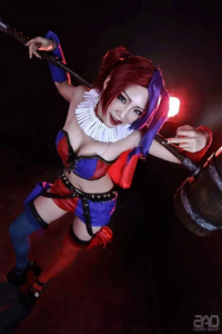 Miyuko Cosplayer as Harley Quinn