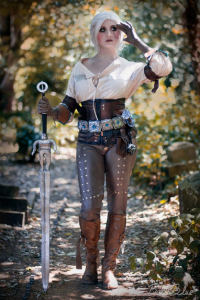 Bulleblue Cosplay as Ciri