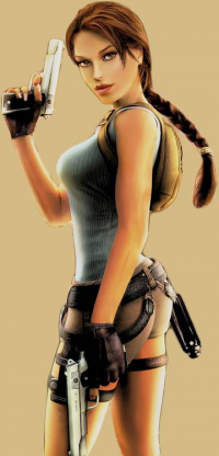 Lara Croft from Unknown Artist