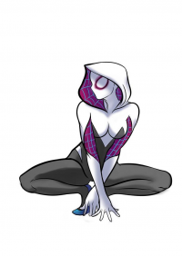 Spider Gwen from Andres Ayala