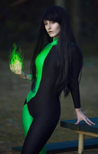 Blondiee as Shego