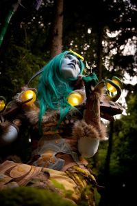 Svetlana Quindt as Nightelf/Druid