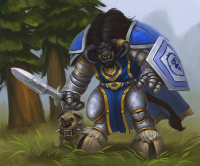 Tauren/Paladin from lowly-owly