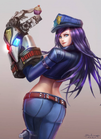 Caitlyn/Officer from Badcompzero