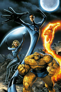 Reed Richards, Johnny Storm, Sue Storm, The Thing from Jeremy Roberts