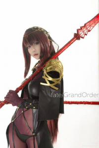 板兒Cosplay as Scathach