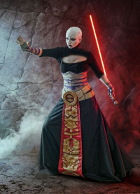 Ferasha Cosplay as Asajj Ventress