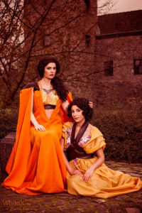 Blossom Of Faelivrin as Ellaria Sand, Ain't It Ani as Tyene Sand