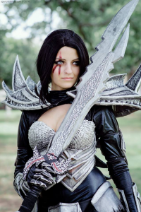 Aperture Ashley as Daedric
