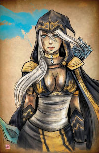 Ashe from Tyrinecarver