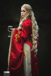 Quinzel Cosplay as Cersei Lannister