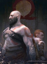 Kratos from shalizeh