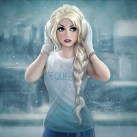 Elsa of Arendelle from Daniel Kordek