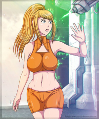 Samus Aran from Shadako26