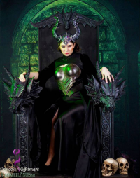 Princess Nightmare as Maleficent