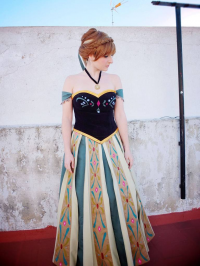 Alinechan as Anna of Arendelle
