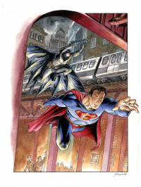 Batman, Superman from Daniel Mikah Govar