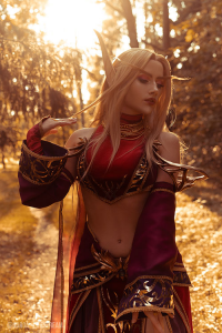 Natasha Firsakova as Blood Elf