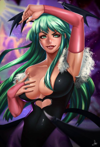 Morrigan Aensland from Carlos Morilla