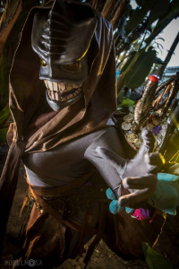 Inquisitor Aura Cosplay and Nerdery as Treasure Goblin