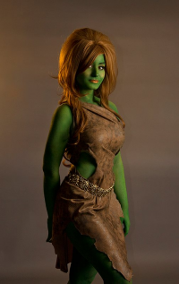 Jessica LG as Orion Slave Girl