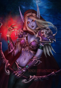 Sylvanas Windrunner from Nindei