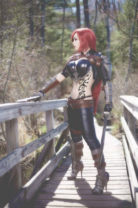 Dollicious Cosplay as Katarina
