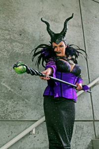 Brie Creative as Maleficent