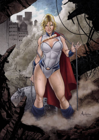 Power Girl von Antonio Luis P. Silva