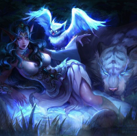 Tyrande Whisperwind from Dzikawa