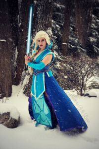 Northern Belle as Elsa of Arendelle/Sith
