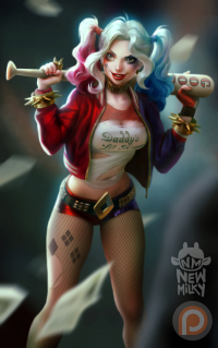 Harley Quinn from newmilky