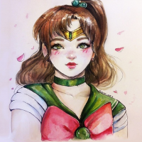 Sailor Jupiter from Nindei
