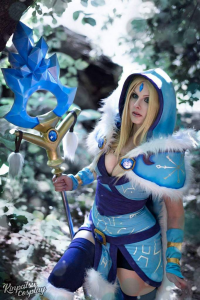 Tayla Barter as Crystal Maiden