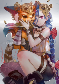Jinx, Gnar from CanKing