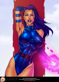 Psylocke from Jamie Collins