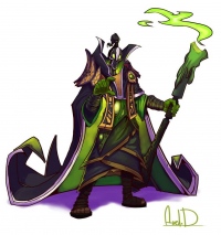 Rubick from Mcfjury